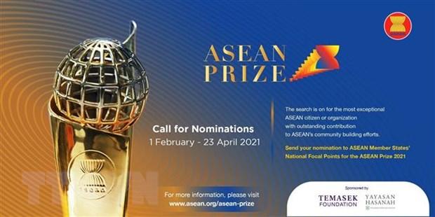 Phat dong Giai thuong ASEAN nam 2021 vinh danh cac cong dan xuat sac hinh anh 1