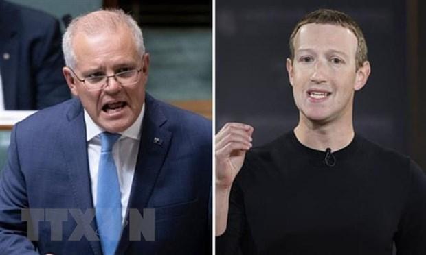 Australia tuyen bo se khong lui buoc truoc Facebook hinh anh 1