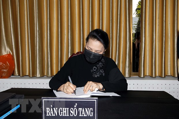 To chuc trong the Le vieng nguyen Pho Thu tuong Truong Vinh Trong hinh anh 3