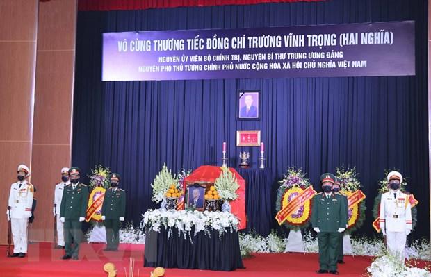 Le tang trong the nguyen Pho Thu tuong Truong Vinh Trong hinh anh 1