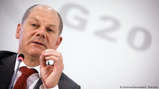 Đức kêu gọi nhóm G20 phối hợp vực dậy nền kinh tế toàn cầu