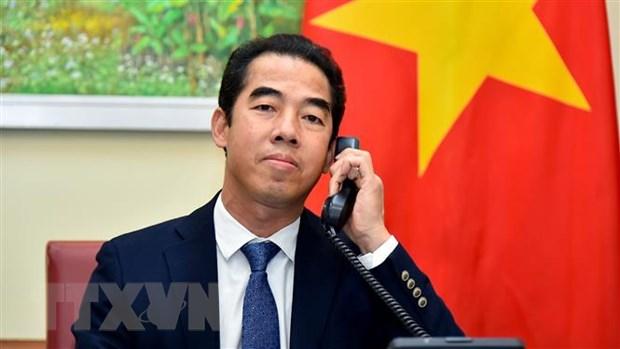 Anh san sang hop tac voi Viet Nam trong cac khuon kho da phuong hinh anh 1