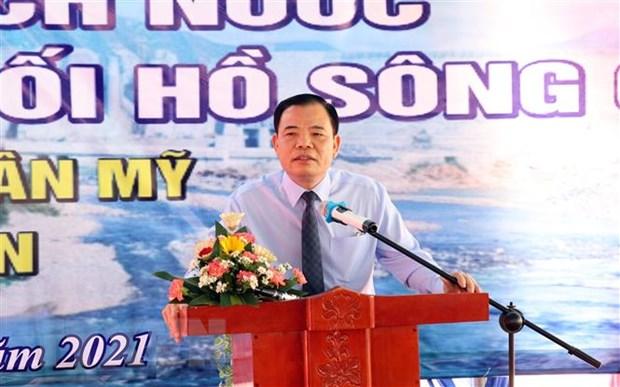 Ninh Thuan: Chan dong, tich nuoc cho he thong thuy loi Tan My hinh anh 2