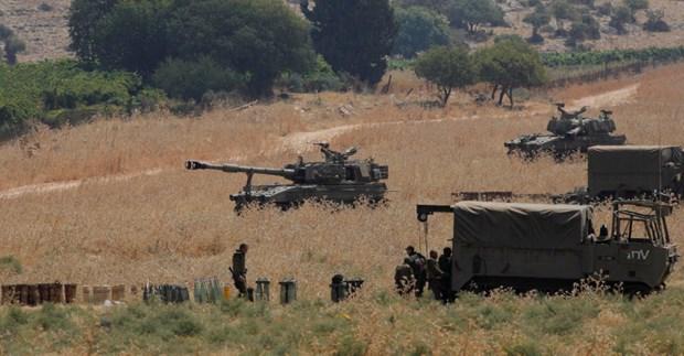 Liban cao buoc Israel xay dung duong tuan tra o vung tranh chap hinh anh 1