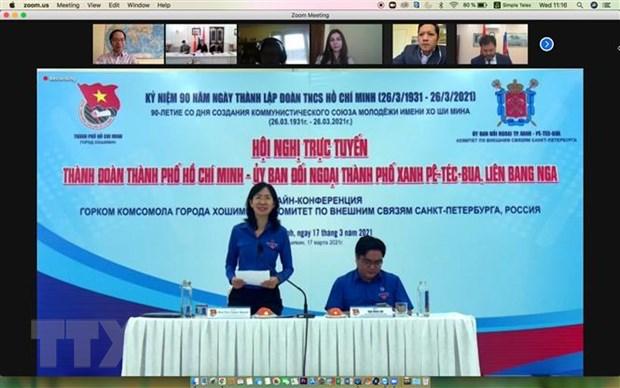 Thanh nien Viet Nam-Nga tang cuong hop tac trong boi canh moi hinh anh 1