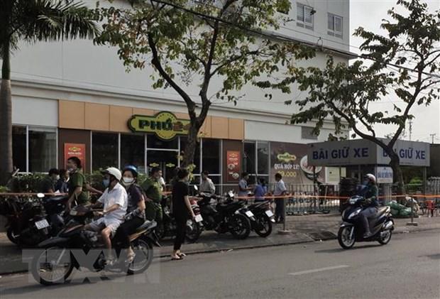 Thanh pho Ho Chi Minh: Hai co gai tre tu vong nghi roi tu tren cao hinh anh 1