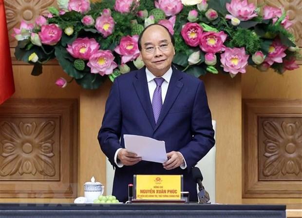 Thu tuong Nguyen Xuan Phuc gap mat cac the he can bo Doan Thanh nien hinh anh 2