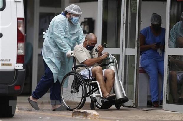 Brazil: Nguon cung oxy cho benh nhan COVID-19 giam rat manh hinh anh 2