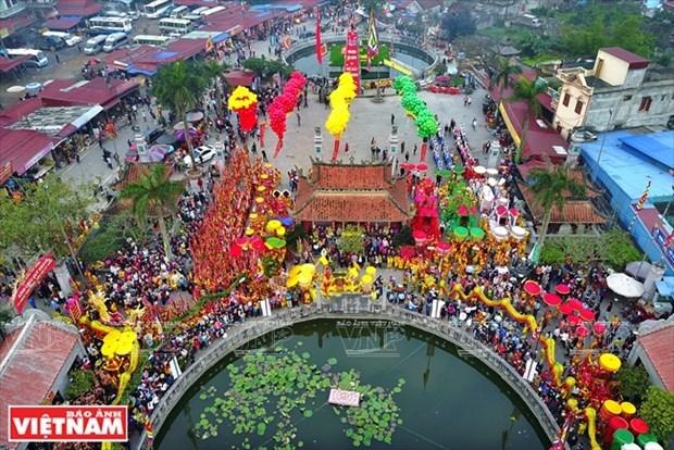 Nam Dinh huy bo le khai mac va nhieu hoat dong tai le hoi Phu Day 2021 hinh anh 1