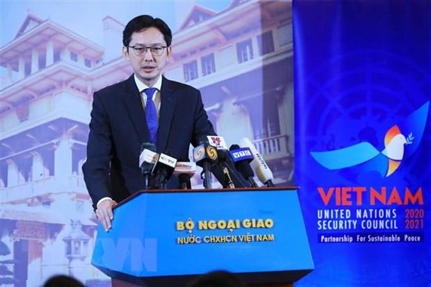 Khang dinh vai tro va vi the cua Viet Nam tai Hoi dong Bao an LHQ hinh anh 1