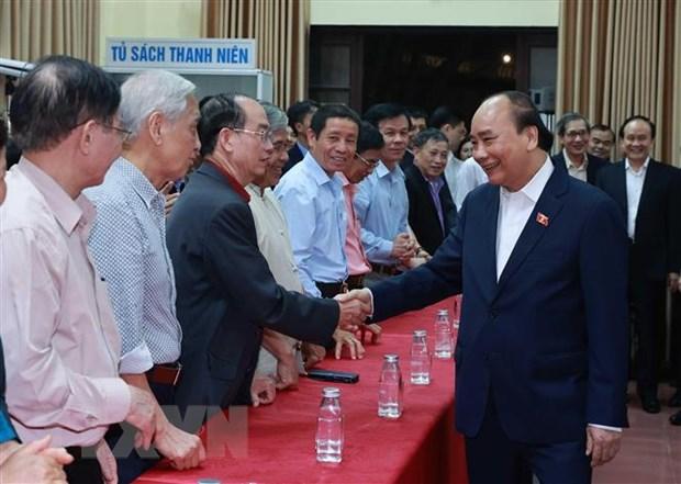 Chu tich nuoc Nguyen Xuan Phuc duoc cu tri noi cu tru tin nhiem cao hinh anh 1