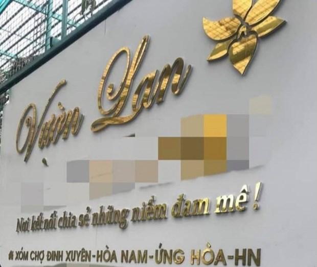 Ha Noi: Dieu tra vu chu vuon lan 'om' tien ty cua khach roi bo tron hinh anh 1