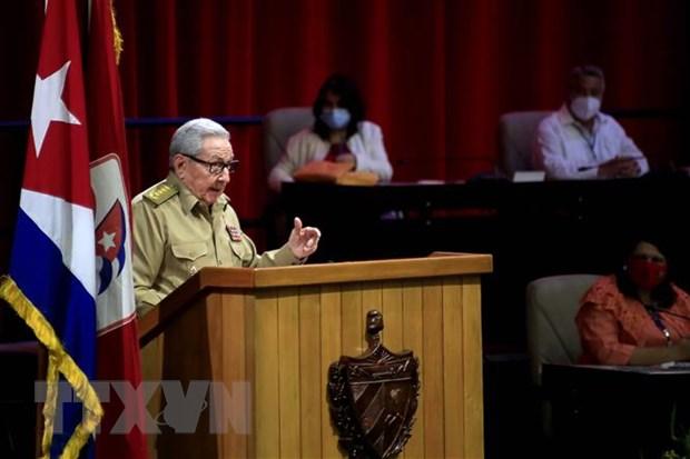 Dai hoi Dang Cong san Cuba: Cac dai bieu thong qua nghi quyet Dai hoi hinh anh 1