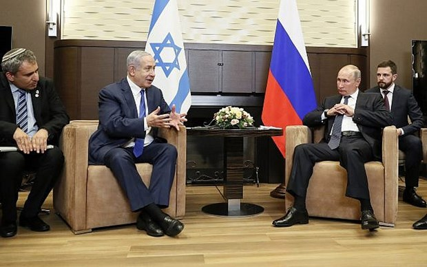 Lanh dao Nga va Israel trao doi ve cac van de toan cau hinh anh 1