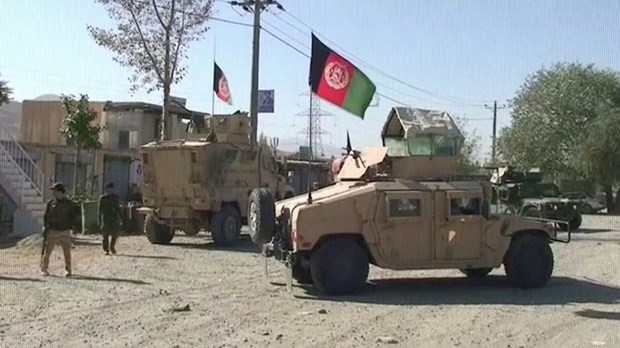 Luc luong Taliban danh chiem cua ngo thu do Afghanistan hinh anh 1