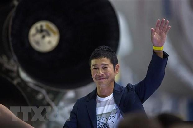 Ty phu Nhat Ban Maezawa se du hanh len tram ISS vao cuoi nam nay hinh anh 1