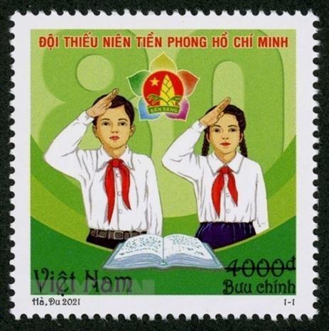 Phat hanh bo tem nhan ky niem 80 nam Ngay thanh lap Doi hinh anh 1