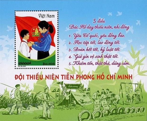 Phat hanh bo tem nhan ky niem 80 nam Ngay thanh lap Doi hinh anh 2