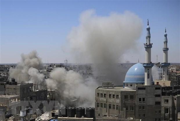 Xung dot Israel-Palestine: Israel khong kich du doi thanh pho Gaza hinh anh 1