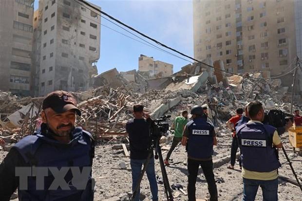 Xung dot Israel-Palestine: Trung Quoc dua ra de xuat 4 diem hinh anh 1