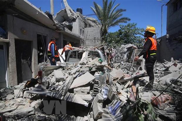 Xung dot Israel-Palestine: Israel chua dat ra thoi han ngung ban hinh anh 1