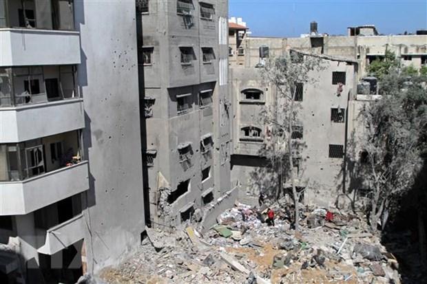 Xung dot Israel-Palestine: Hamas du bao kha nang ngung ban o Dai Gaza hinh anh 1