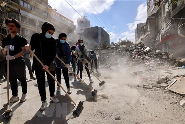 Xung dot Israel-Palestine: My cam ket ho tro tai thiet Gaza hinh anh 1