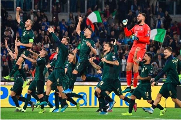 EURO 2020: Doi tuyen Italy va giac mo 'phuc hung' tu bang A hinh anh 1