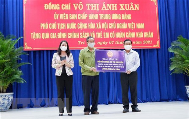 Pho Chu tich nuoc tham luc luong phong chong dich bien gioi An Giang hinh anh 4