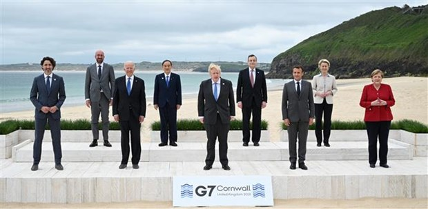 Nhung thong diep tich cuc tu cuoc hop Hoi nghi thuong dinh G7 hinh anh 1