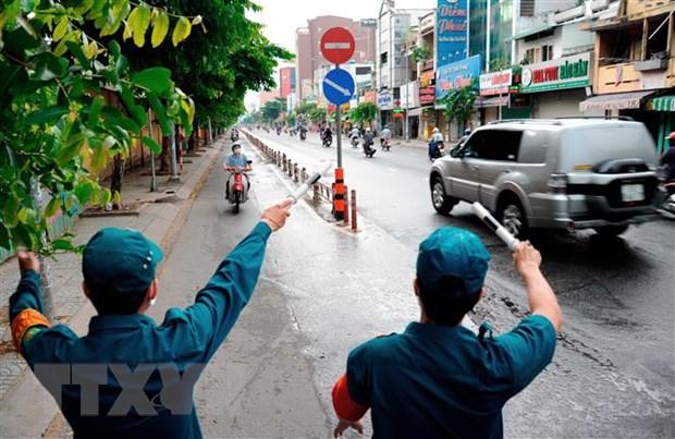 Thanh pho Ho Chi Minh tiep tuc gian cach xa hoi den ngay 30/6 hinh anh 1