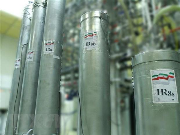 Iran tuyen bo san xuat 6,5kg urani duoc lam giau toi 60% hinh anh 1