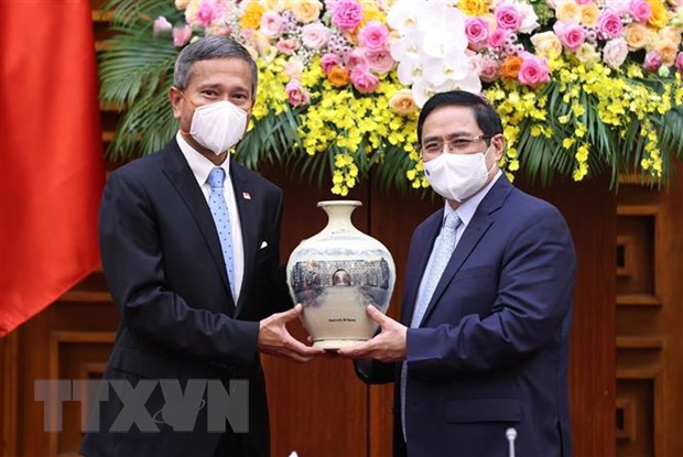 Singapore luon la mot trong nhung doi tac dau tu hang dau vao Viet Nam hinh anh 1