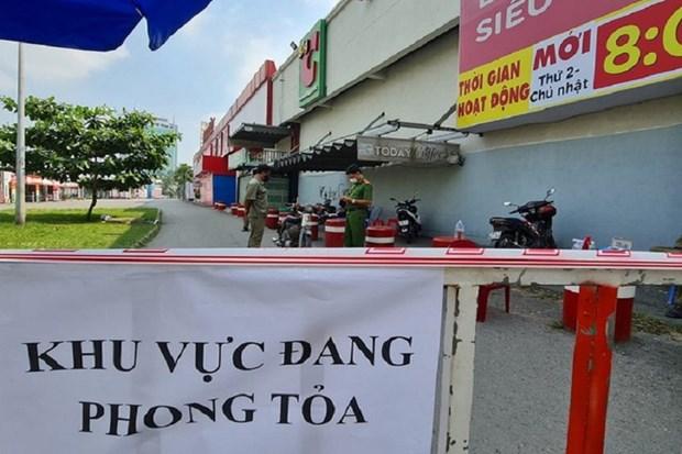 Dich COVID-19: Go phong toa Sieu thi Big C Dong Nai truoc thoi han hinh anh 1