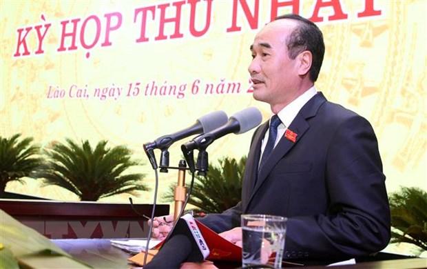 Phe chuan ket qua bau nhan su Hoi dong Nhan dan tinh Lao Cai hinh anh 1