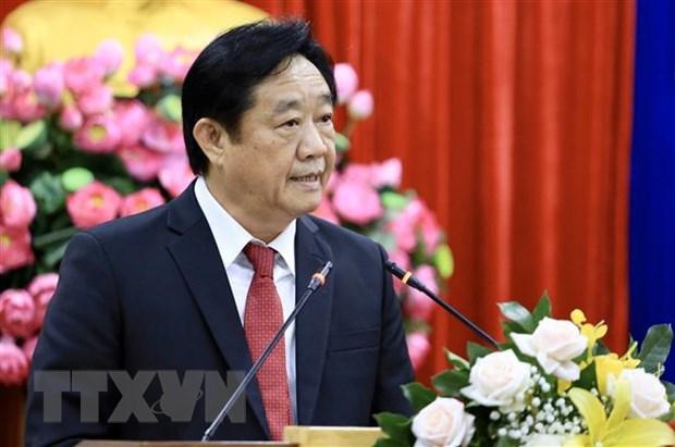 Chu tich UBND tinh Binh Duong Nguyen Hoang Thao khong tai cu hinh anh 1