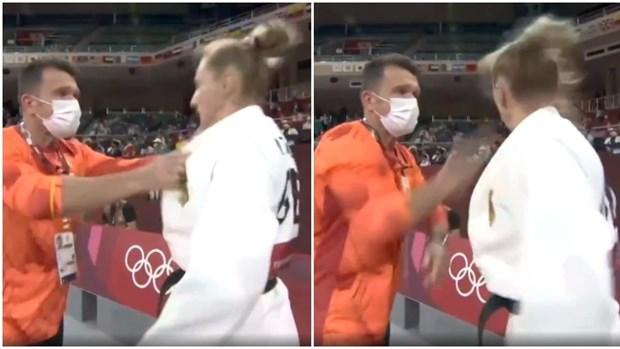 Olympic Tokyo: HLV tat de 'thoi lua' tinh than thi dau cua hoc tro hinh anh 1