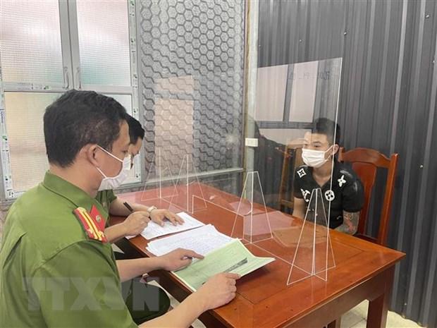 Thanh Hoa: Bat 11 doi tuong giet nguoi, gay roi trat tu cong cong hinh anh 2