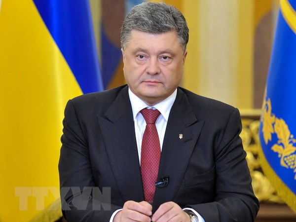 Tong thong Ukraine de xuat dam phan moi voi Nga, phe ly khai hinh anh 1
