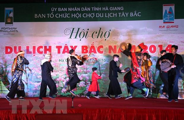 Ha Giang khai mac Hoi cho du lich Tay Bac nam 2014 hinh anh 1