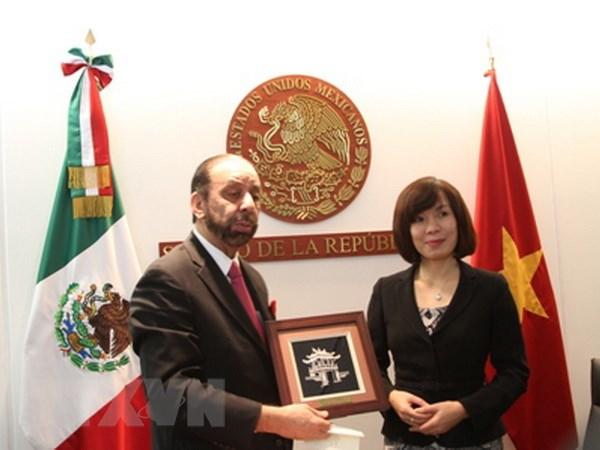 Mexico: Viet Nam la uu tien trong chinh sach huong ve chau A-TBD hinh anh 1