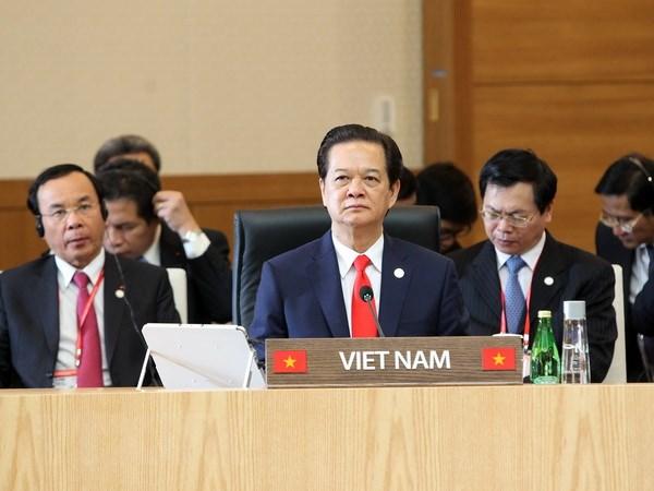Thu tuong du Hoi nghi Cap cao Doi thoai ASEAN-Han Quoc hinh anh 1