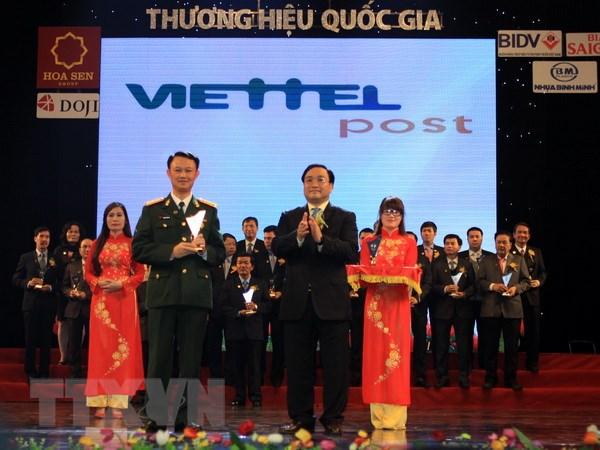 Vinh danh 63 doanh nghiep dat giai Thuong hieu Quoc gia 2014 hinh anh 1