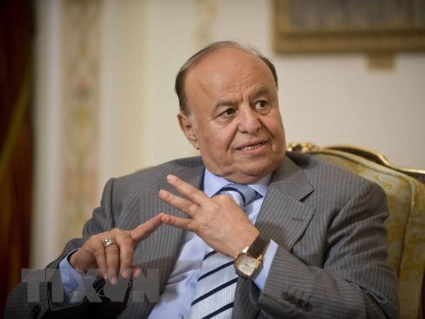 Tong thong Yemen Mansour Hadi da rut lai tuyen bo tu chuc hinh anh 1