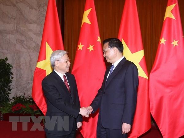Thong cao chung Viet-Trung nhan chuyen tham cua Tong Bi thu hinh anh 1