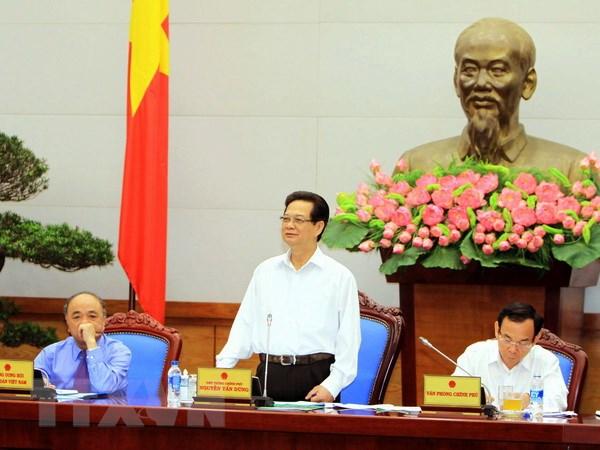 Thu tuong lam viec voi Trung uong Hoi Nong dan Viet Nam hinh anh 1