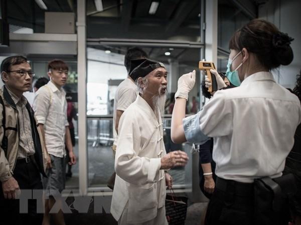 Singapore tang cuong cac bien phap phong ngua MERS o san bay hinh anh 1