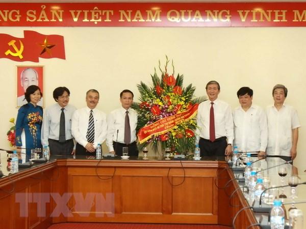 Loi cam on cua TTXVN nhan Ngay Bao chi Cach mang Viet Nam hinh anh 1