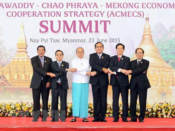 Thu tuong Nguyen Tan Dung du Hoi nghi cap cao ACMECS lan 6 hinh anh 1