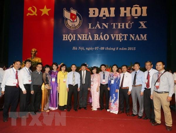Hoi Nha bao Viet Nam gui Thu cam on nhan Dai hoi thanh cong hinh anh 1